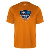 Performance Orange Tee-Big South Mens Basketball Championship 2017