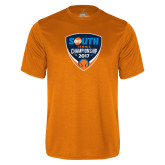 Performance Orange Tee-Big South Tennis Championship 2017
