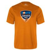 Performance Orange Tee-Big South Womens Lacrosse Championship 2017