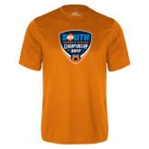 Performance Orange Tee-Big South Womens Soccer Championship 2017