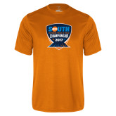 Performance Orange Tee-Big South Outdoor Track and Field Championship 2017