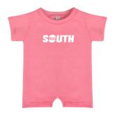 Bubble Gum Pink Infant Romper-Big South