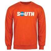 Orange Fleece Crew-Big South