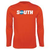 Performance Orange Longsleeve Shirt-Big South