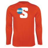 Performance Orange Longsleeve Shirt-Big S