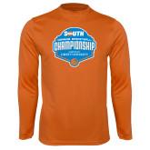 Performance Orange Longsleeve Shirt-Big South Womens Basketball Championship