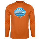 Performance Orange Longsleeve Shirt-Big South Mens Basketball Championship