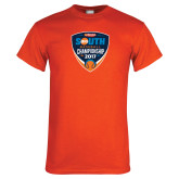 Orange T Shirt-Hardies Big South Baseball Championship 2017