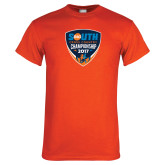 Orange T Shirt-Big South Cross Country Championship 2017