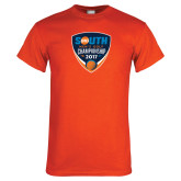 Orange T Shirt-Big South Mens Golf Championship 2017