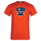 Orange T Shirt-Big South Outdoor Track and Field Championship 2017