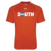 Under Armour Orange Tech Tee-Big South