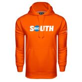 Under Armour Orange Performance Sweats Team Hoodie-Big South