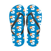 Full Color Flip Flops-Big S