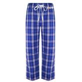 Royal/White Flannel Pajama Pant-Big South