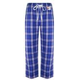 Royal/White Flannel Pajama Pant-Big S