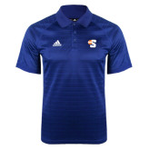 Adidas Climalite Royal Jaquard Select Polo-Big S