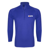 Sport Wick Stretch Royal 1/2 Zip Pullover-Big South