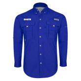 Columbia Bahama II Royal Long Sleeve Shirt-Big South