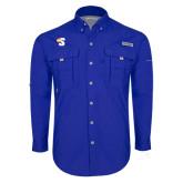 Columbia Bahama II Royal Long Sleeve Shirt-Big S