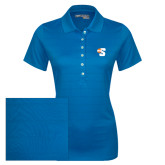 Ladies Callaway Opti Vent Sapphire Blue Polo-Big S