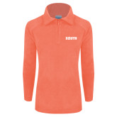 Columbia Ladies Half Zip Coral Fleece Jacket-Big South