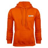 Orange Fleece Hoodie-Big South