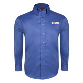 Red House French Blue Long Sleeve Shirt-Big South
