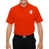Under Armour Orange Performance Polo-Big S