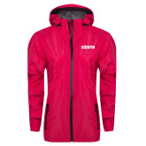 Ladies Dark Fuchsia Waterproof Jacket-Big South