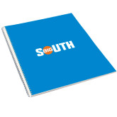 College Spiral Notebook w/Clear Coil-Big South