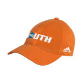 Adidas Orange Slouch Unstructured Low Profile Hat-Big South