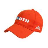 Adidas Orange Structured Adjustable Hat-Big South