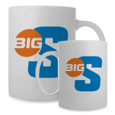 Full Color White Mug 15oz-Big S