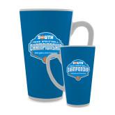 Full Color Latte Mug 17oz-Big South Mens Basketball Championship