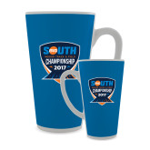 Full Color Latte Mug 17oz-Big South Track and Field Championship