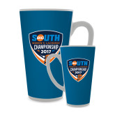 Full Color Latte Mug 17oz-Big South Womens Lacrosse Championship 2017