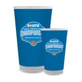 Full Color Glass 17oz-Big South Mens Basketball Championship