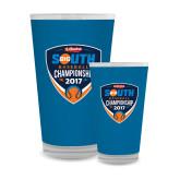 Full Color Glass 17oz-Hardies Big South Baseball Championship 2017