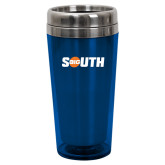Solano Acrylic Blue Tumbler 16oz-Big South