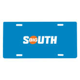 License Plate-Big South