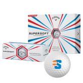 Callaway Supersoft Golf Balls 12/pkg-Big S