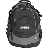 High Sierra Black Titan Day Pack-Big South