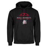 Black Fleece Hoodie-Soccer Geometric Top