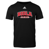 Adidas Black Logo T Shirt-Official Logo