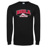 Black Long Sleeve TShirt-Official Athletics Logo