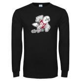Black Long Sleeve TShirt-Mascot