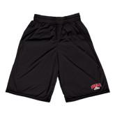 Russell Performance Black 10 Inch Short w/Pockets-Official Athletics Logo