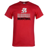 Red T Shirt-Basketball Repeated