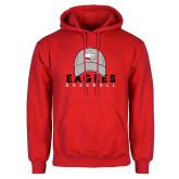 Red Fleece Hoodie-Baseball Hat